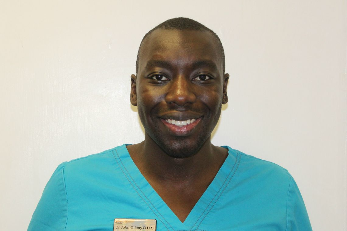 Dr John Odeny B.D.S. (Dundee) Dentist.